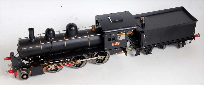 Lot 3-An Aster gauge 1 live steam model of a Mogul 8550 ...