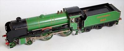 Lot 4-An Aster gauge 1 live steam model of a green...