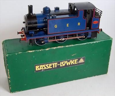 Lot 5-An Aster Gauge 1 spirit fired live steam model of ...