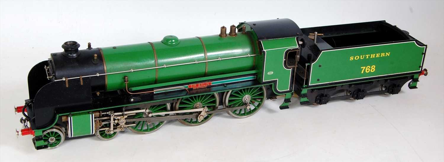 Lot 7-An Aster gauge 1 live steam green Southern Region ...