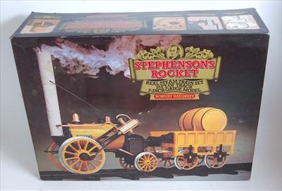 "Lot 10-A Hornby Railways 3.5"" gauge Stephensons Rocket..."