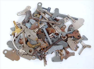 Lot 25-A tray of mixed toy and model keys to include...