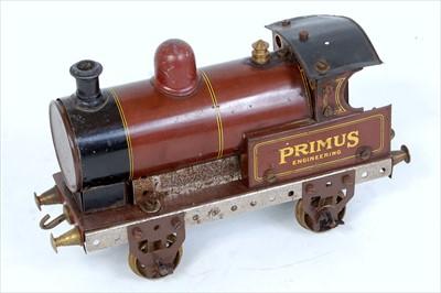 Lot 28-A Primus Engineering No. 217 clockwork 0-4-0...
