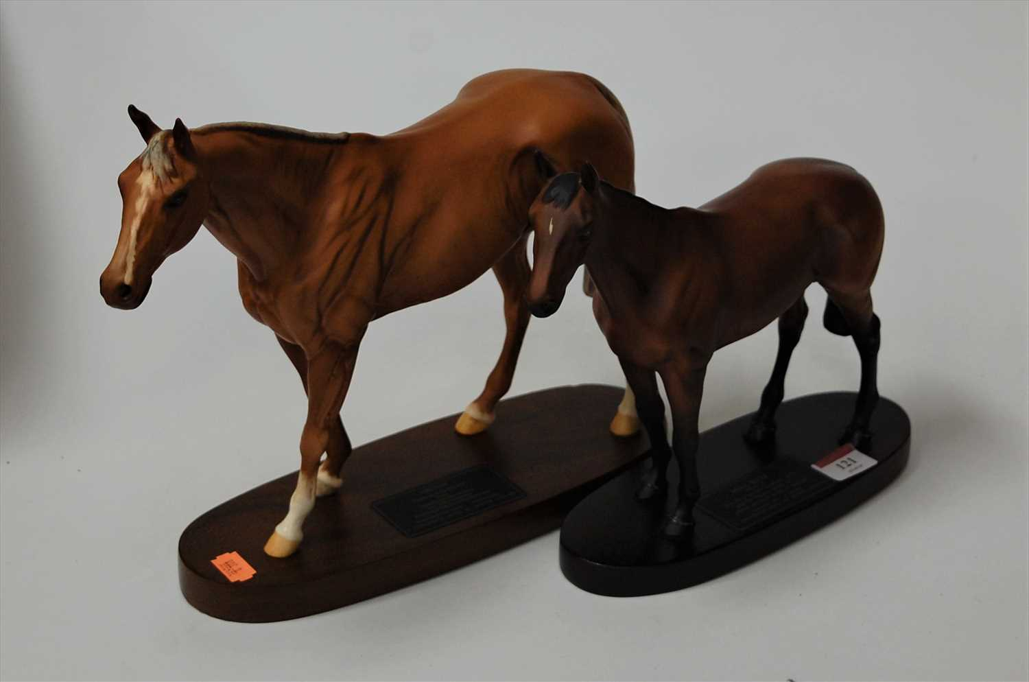Lot 4-A Beswick Connoisseur model of Grundy 'Racehorse...