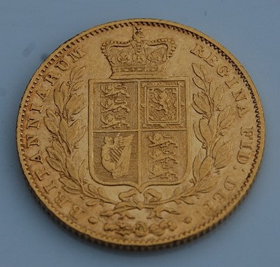 Lot 194 - Great Britain, 1841 gold full sovereign