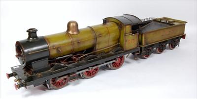 """Lot 46-A 5"""" gauge live steam model of an 0-6-0 LNER..."""