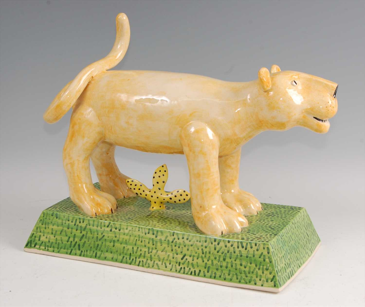 Lot 32-Paddy Peters - a large contemporary pottery model ...