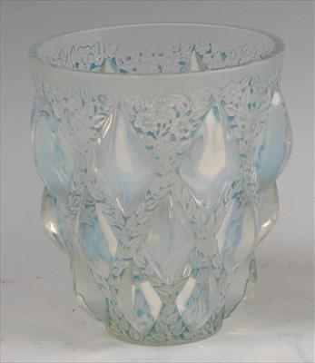 Lot 67-René Lalique (1860-1945) - a moulded and...