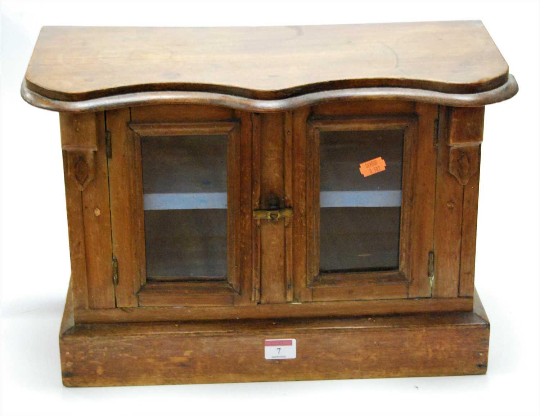 Lot 7-A Victorian mahogany apprentice piece...