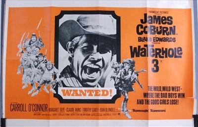 Lot 538-Waterhole 3, 1967 UK quad poster
