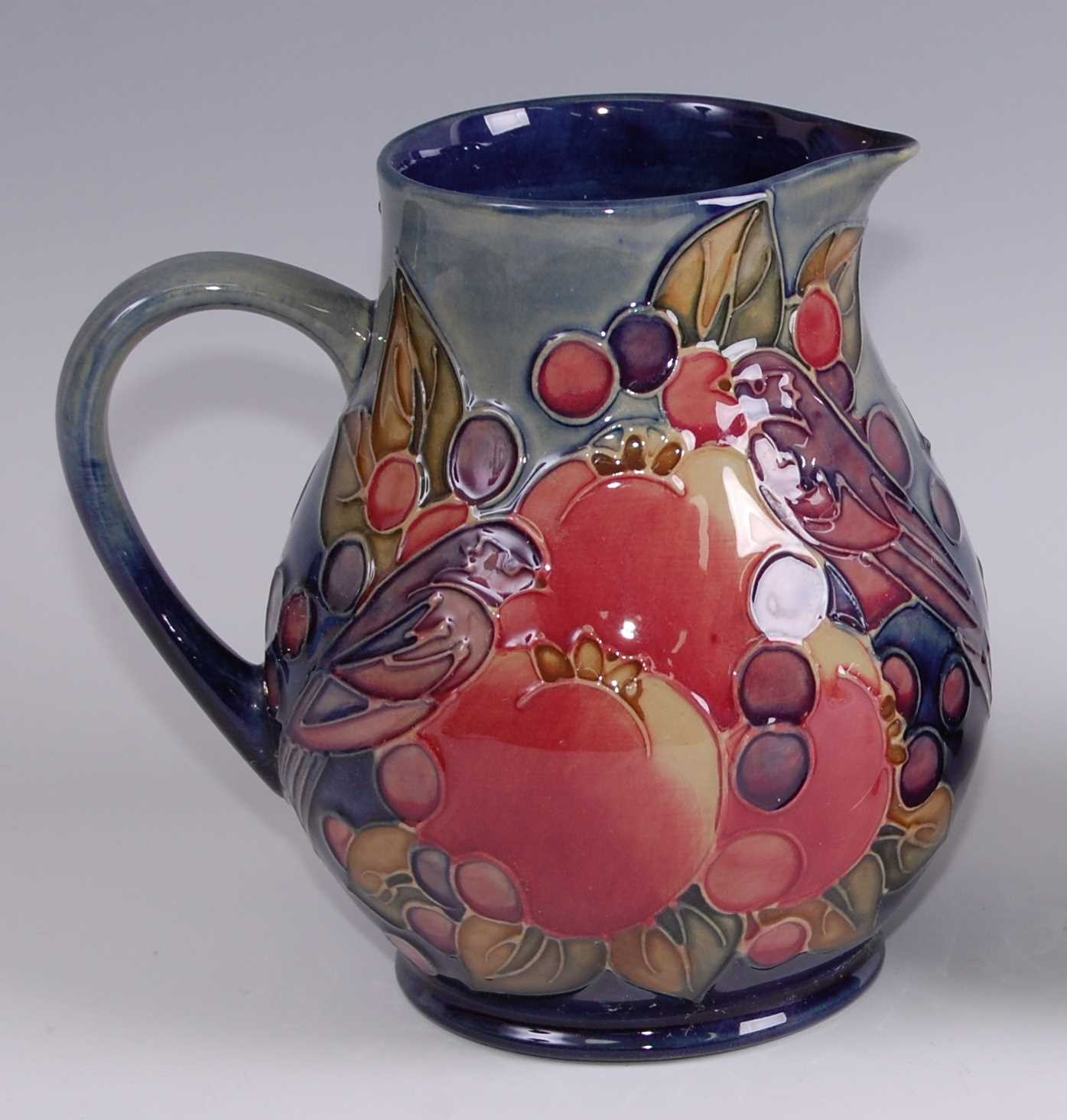 Lot 13 - A contemporary Moorcroft pottery jug in the...