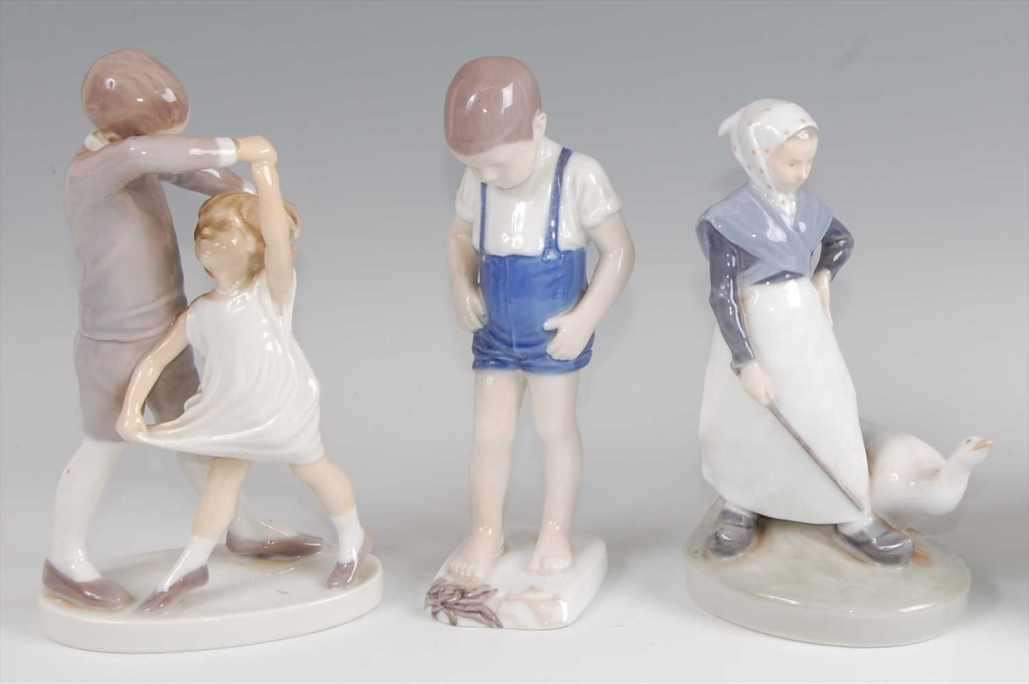 Lot 30-A Bing & Grondahl porcelain model of a dancing...