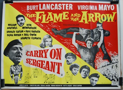 Lot 535-Carry On Sergeant / The Flame and the Arrow