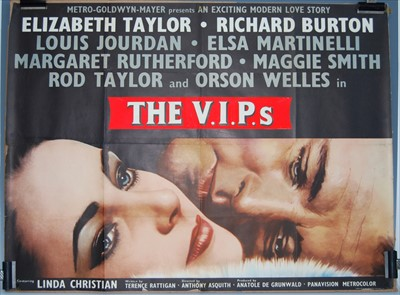 Lot 533-The V.I.P.s. (Hotel International), 9163 UK quad poster