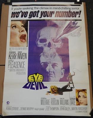Lot 531-Eye of the Devil, 1966 one sheet poster
