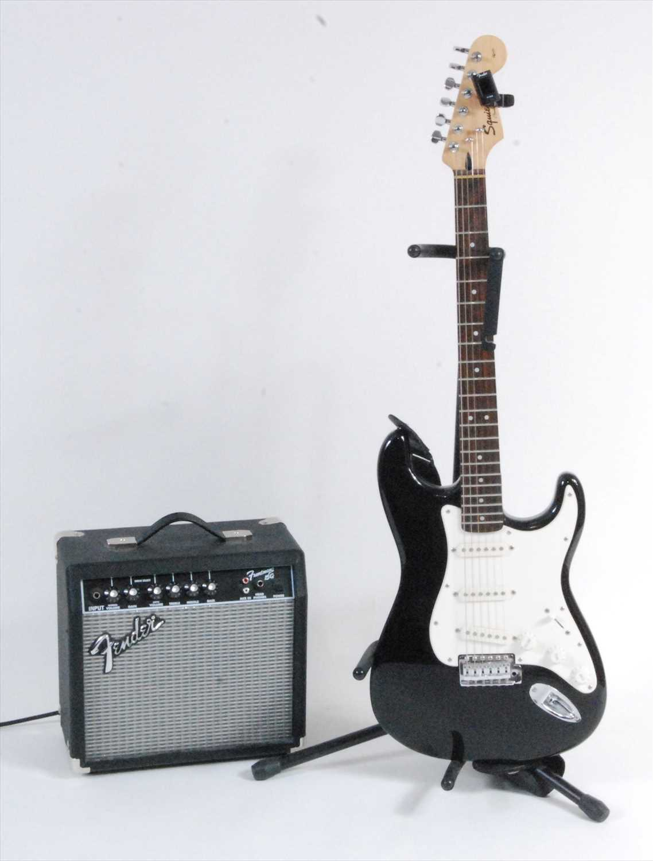 Lot 511-A Fender Squier Strat electric guitar