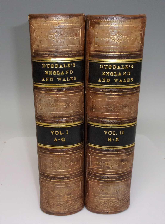 Lot 2002 - BLANCHARD, E.L. (ed), Dugdale's England and...