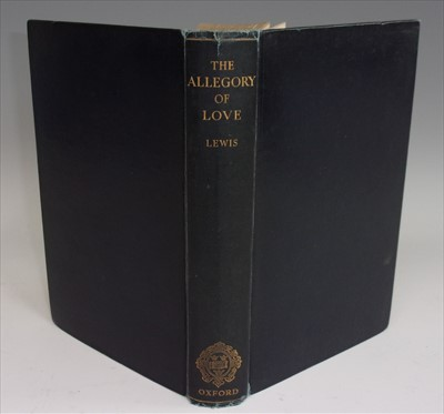 Lot 1006-LEWIS, C.S. The Allegory of Love. Clarendon Press,...