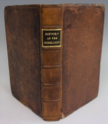 Lot 1009-RAY, James. A Compleat History of the Rebellion...