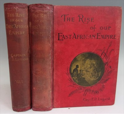 Lot 1010-LUGARD, Capt. F. D. The Rise of Our East African...