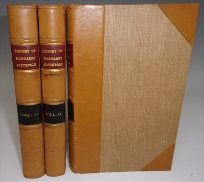 Lot 1021-COBBOLD, Richard. The History of Margaret...