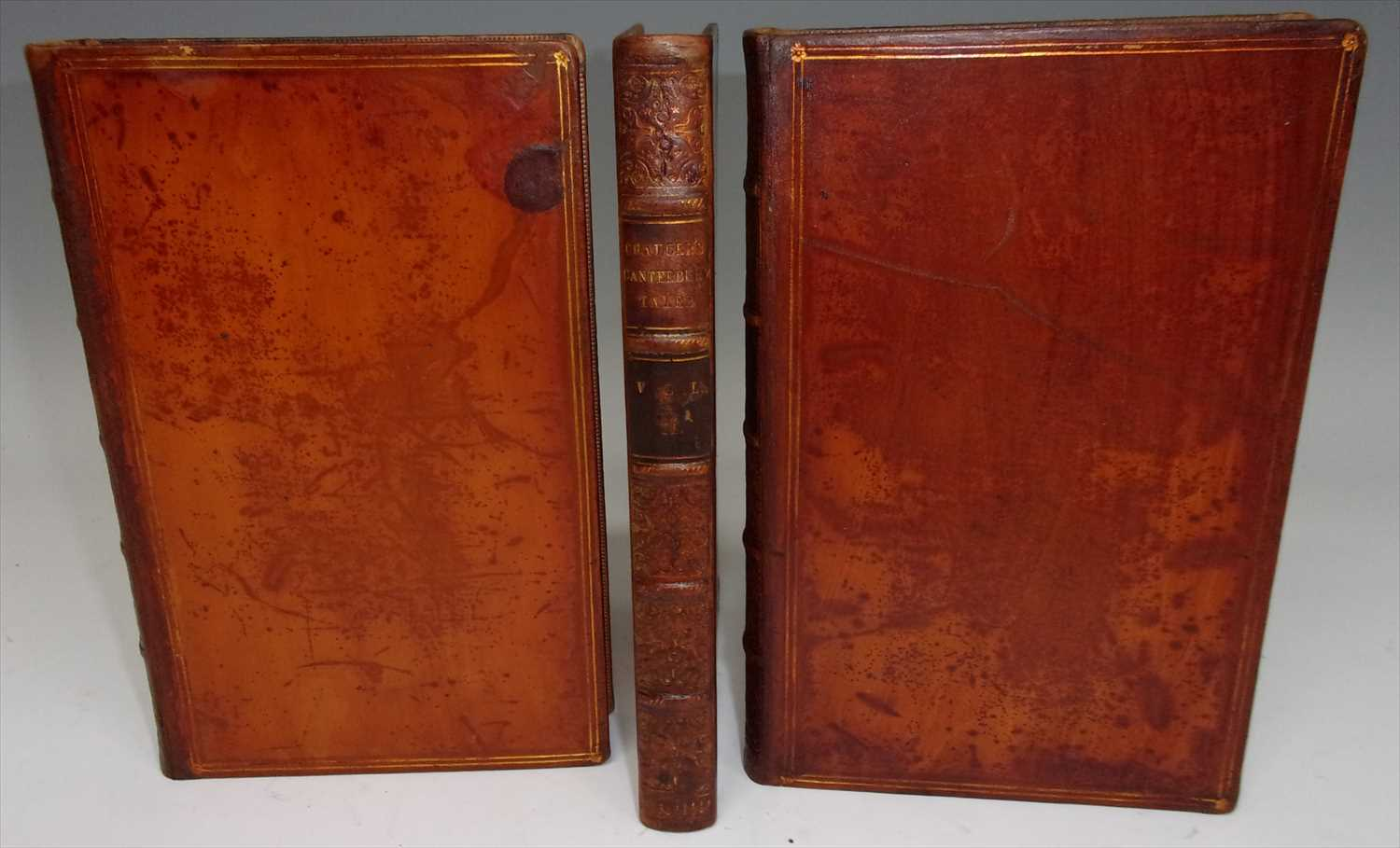 Lot 2003 - CHAUCER, G. The Canterbury Tales. James Nichol,...