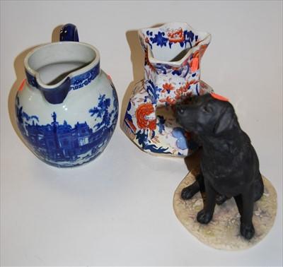 Lot 10-A Mason's ironstone hydra-jug, typically...