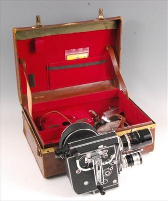 Lot 515-A Paillard Bolex H 16 Reflex 16mm camera
