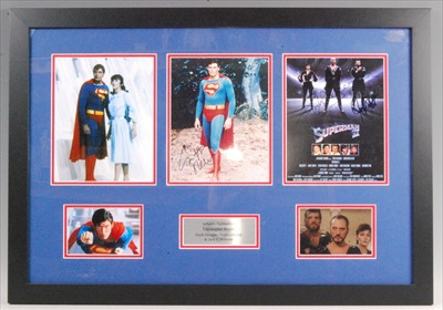 Lot 517-Superman, a rare autograph presentation