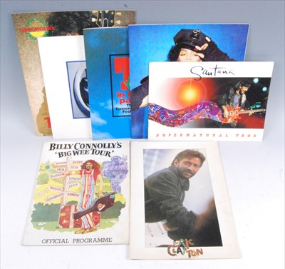 Lot 523-A collection of programmes to include