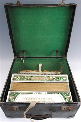 Lot 510-A Honer Verdi I piano accordion