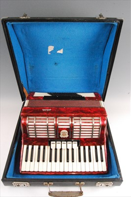 Lot 509-A Firotti paino accordion