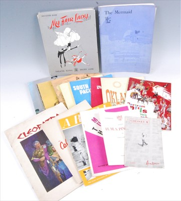 Lot 524-A collection of film and theatre programmes to include