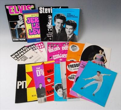 Lot 525-A New Music Express 1966-67 Poll-Winners All-Stars concert programme