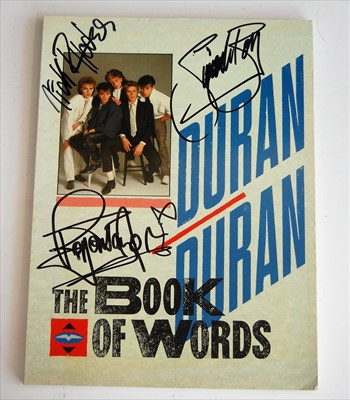 Lot 527-1984 Duran Duran 'The Book of Words', single...