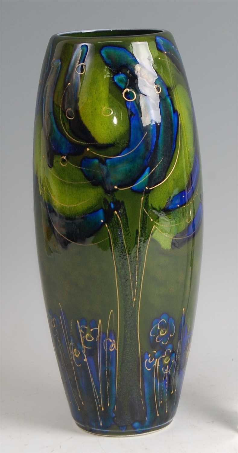Lot 46-A contemporary Art Pottery vase by Anita...