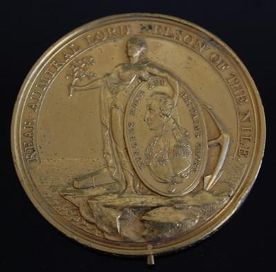 Lot 1 - A Davison's Nile Medal (1798)