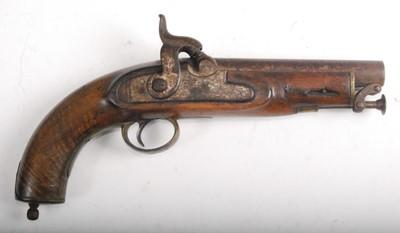 Lot 11-A Victorian Coast Guard's percussion belt pistol