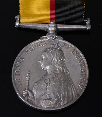 Lot 52-A Queen's Sudan medal