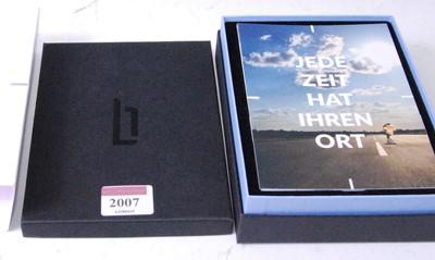 Lot 2007-A Lilienthal of Berlin gent's steel cased quartz...