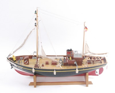 Lot 2-A well-made kit built model of a 1:36 scale...