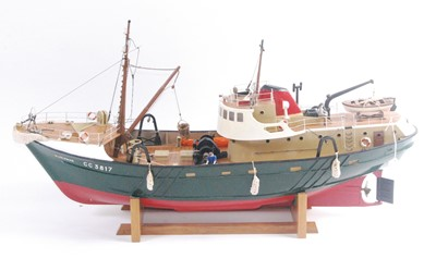 Lot 3-A very well-made kit built and later adapted...