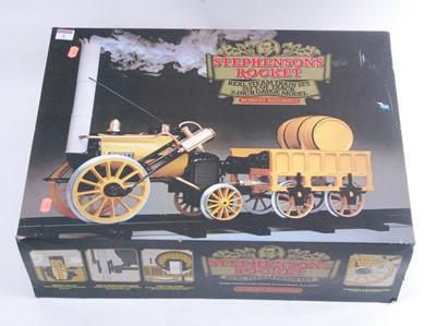 "Lot 6-A Hornby Railways 3½"" gauge Stevenson's Rocket..."