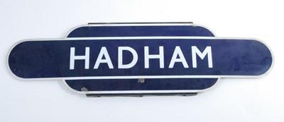"""Lot 11-A BR Eastern Region """"Hadham"""" half flanged totem..."""