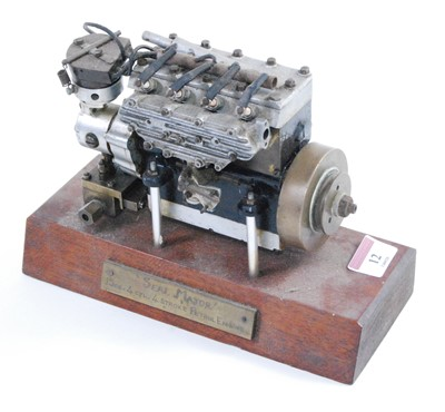 Lot 12-A well-engineered model of a Seal Major 15cc four ...