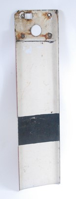 Lot 14-An original BR enamel home signal arm, red and...