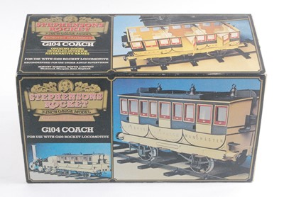 "Lot 17-A Hornby Railways Stephenson's Rocket 3.5"" gauge..."