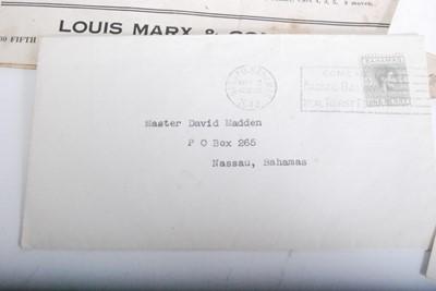 Lot 417-An original 1940s Louis Marx & Co Streamlined...