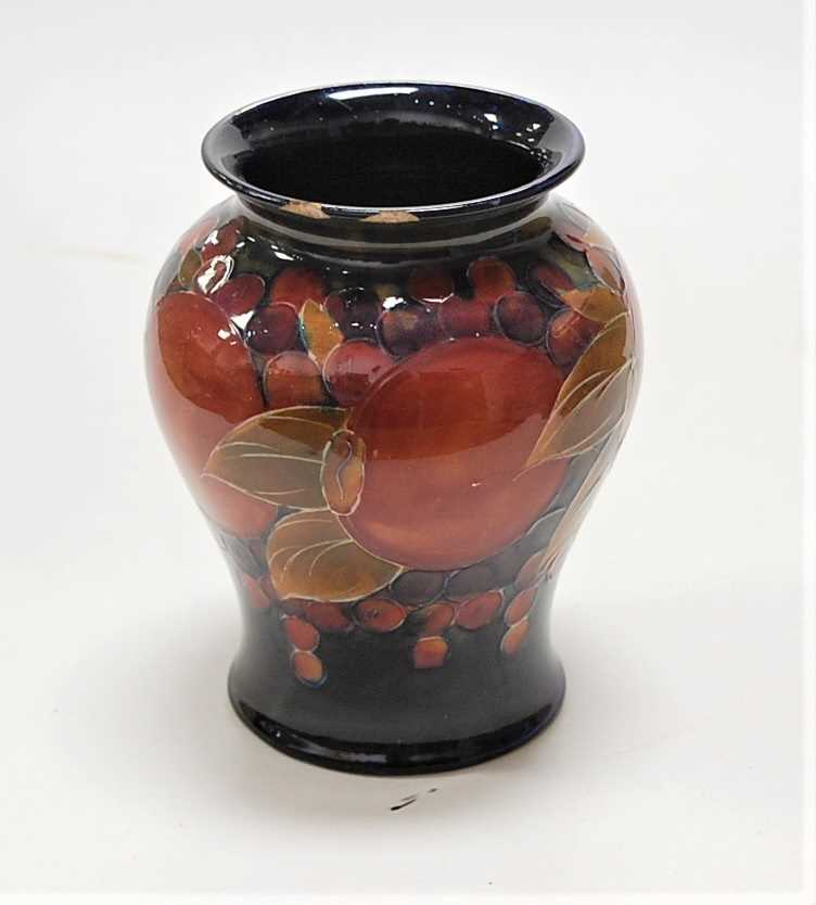 Lot 12-An early 20th century Moorcroft pottery vase,...