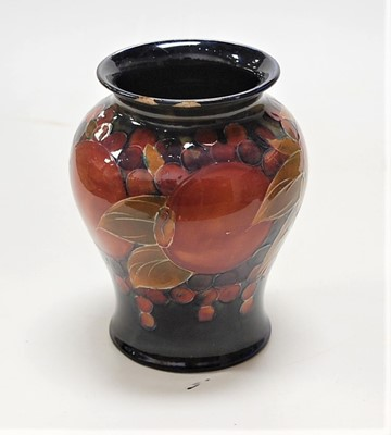 Lot 12-An early 20th century Moorcroft pottery vase,...